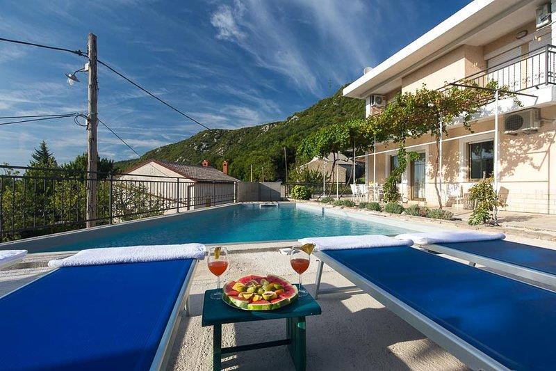 VILLA WITH PRIVATE POOL NEAR CRIKVENICA, holiday rental in Kraljevica