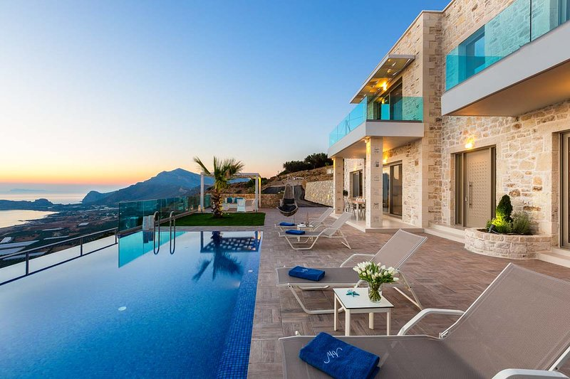 Breathtaking Sea View * Amazing Brand New Villas * Private Pool, vacation rental in Kavousi