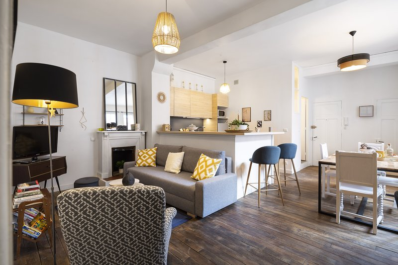 L'Escale-Charmant appartement renové, vakantiewoning in Chevaigne