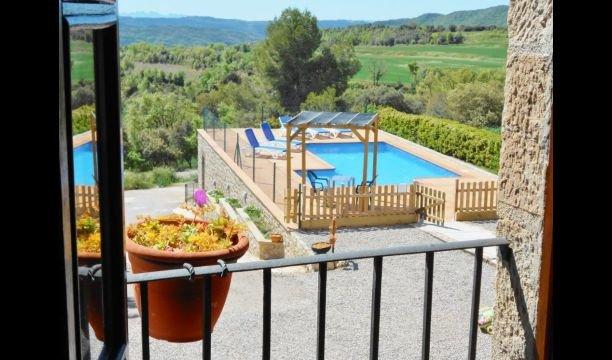 Sant Sebastia de Montmajor Villa Sleeps 8 with Pool - 5623605, holiday rental in Clariana de Cardener