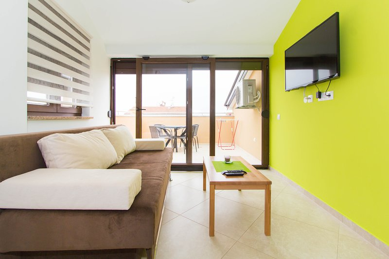 Apartment Patricija for 6 persons with Pool 7, vacation rental in Cervar Porat