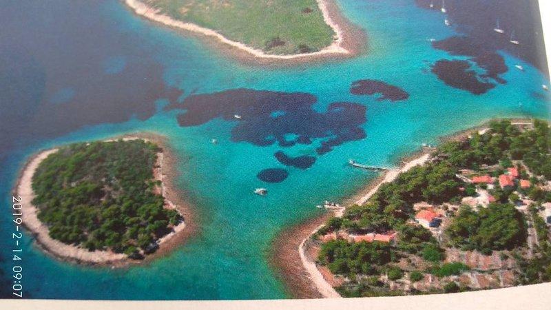Les îles de Drvenik