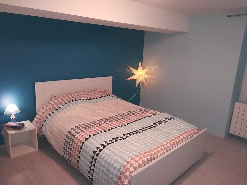 Appartement charmant, centre ville, 2' gare SNCF, 25' aéroport St Exupéry, holiday rental in La Tour-du-Pin