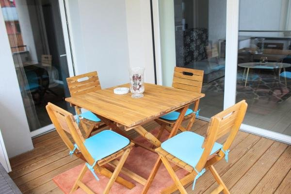 Beautiful apartment with balcony, holiday rental in Sillingy
