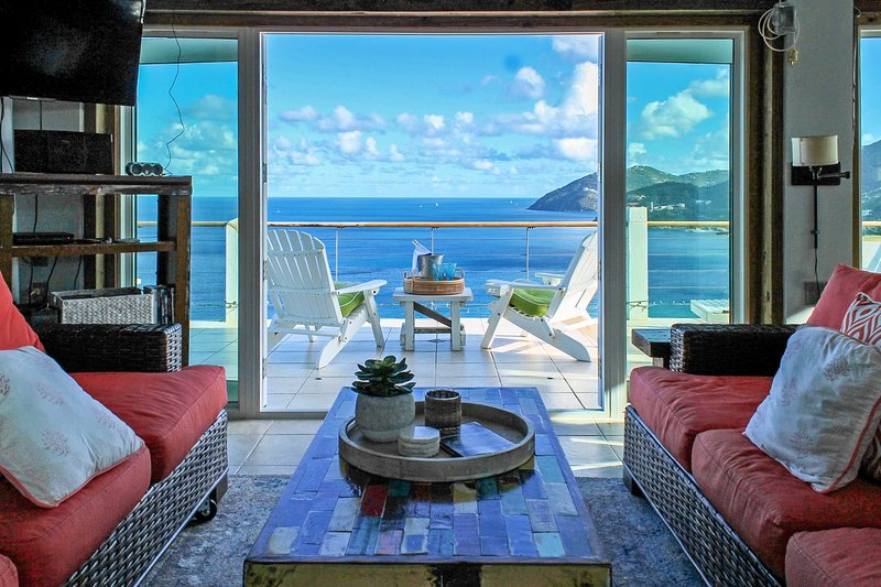 'Tortola Adventure' Private Villa w/OceanView Pool, holiday rental in Tortola
