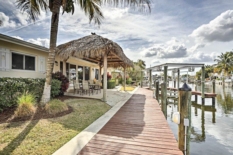 Il tuo paradiso in riva al mare attende in questa casa vacanza a Matlacha!