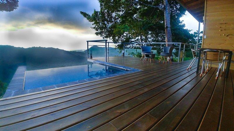 JungleSea Lodge  Cabina  Ocean View, aluguéis de temporada em Palmar Norte
