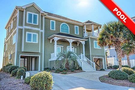 Sound of Freedom - 7BR Oceanfront House in North Topsail Beach with Pool - Sleep, holiday rental in Topsail Island