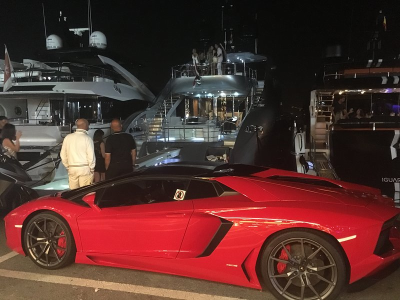 Walk the famous Puerto Banus Harbour and enjoy the luxury boats and cars