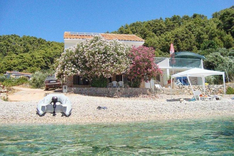 Mateo A1 Delia(5) - Cove Skozanje (Gdinj), holiday rental in Jelsa