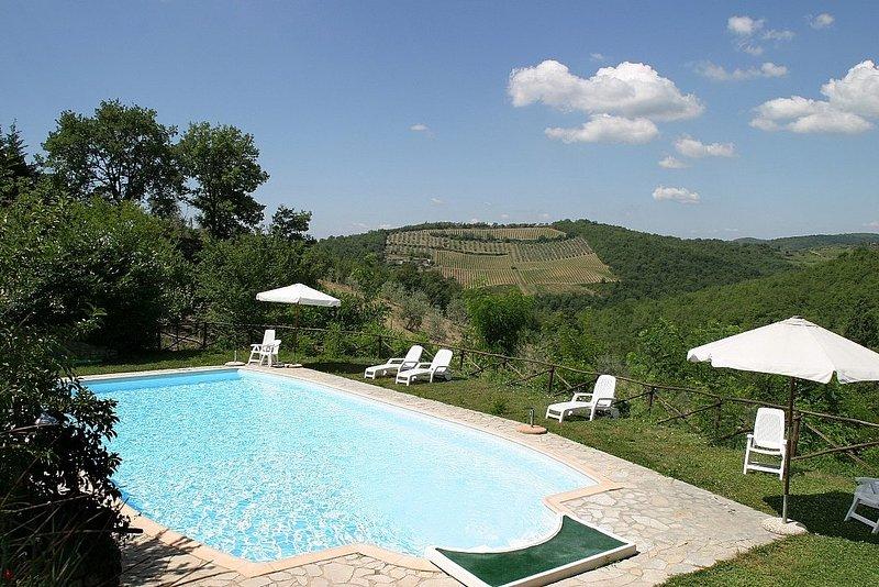 Casa Refolo A, holiday rental in Gaiole in Chianti