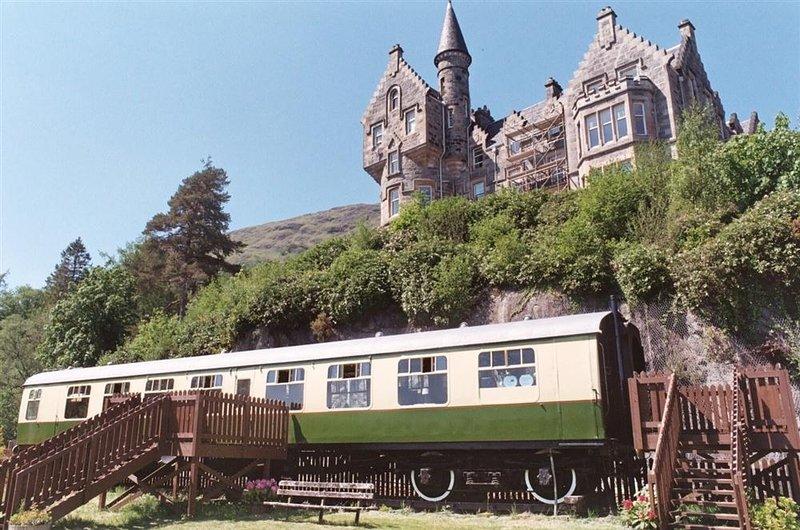 The Railway Carriage, holiday rental in Portsonachan