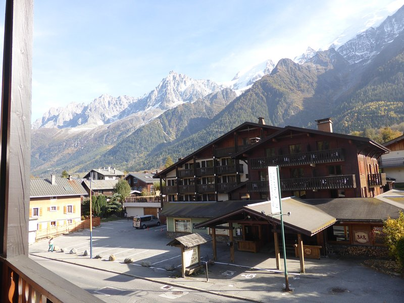 Welcome to your cozy and rustic apartment in Les Houches!