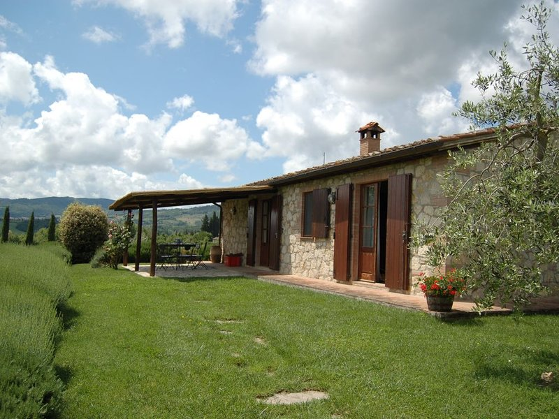 Extraordinary Villa with Million Dollar Views and Private Pool, holiday rental in Cetona