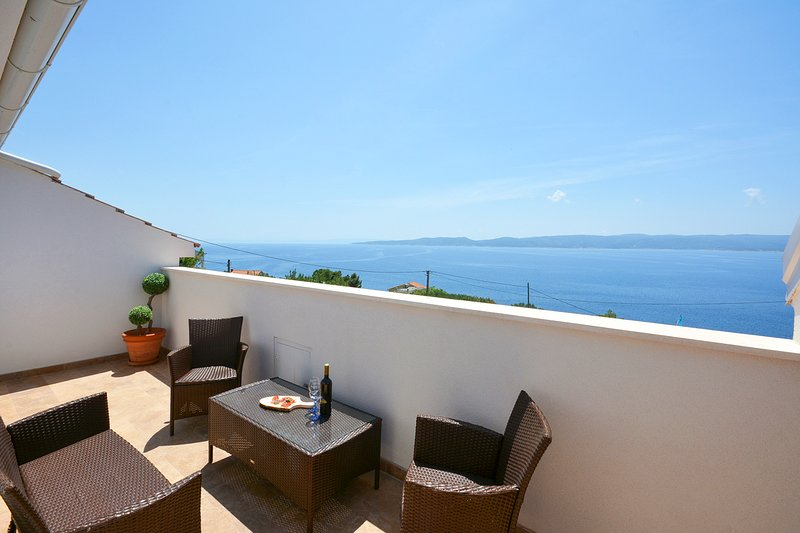 Fistanici Villa Sleeps 6 with Pool and Air Con - 5765900, vacation rental in Zadvarje