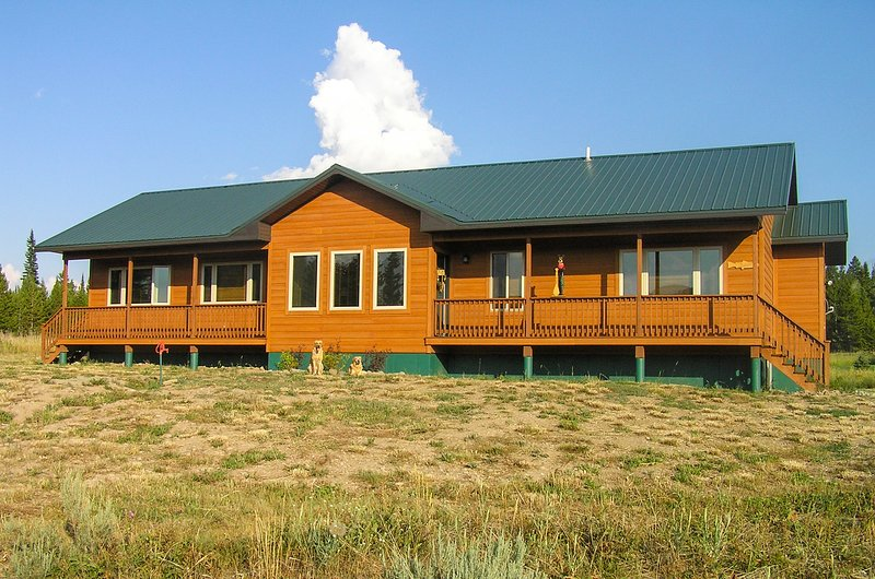 Our Montana House. This place will capture your spirit- it has mine...