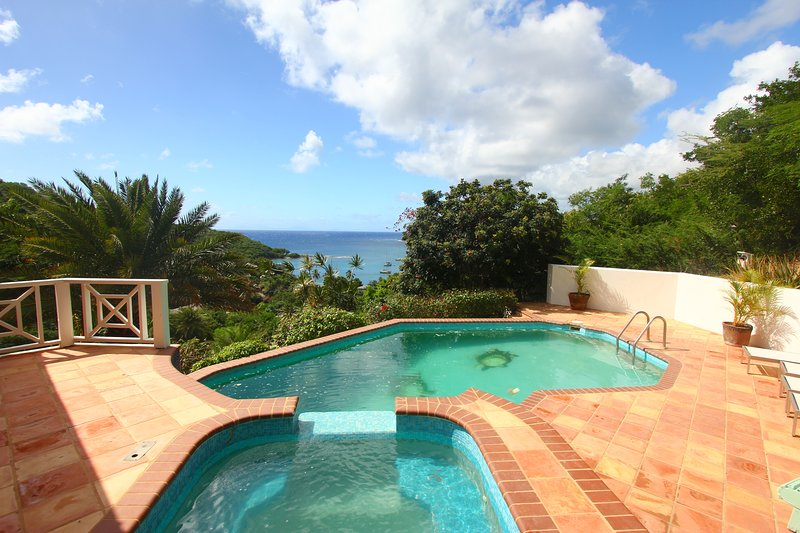 Stunning hill top property just a short walk from the beach!!!, holiday rental in Antigua