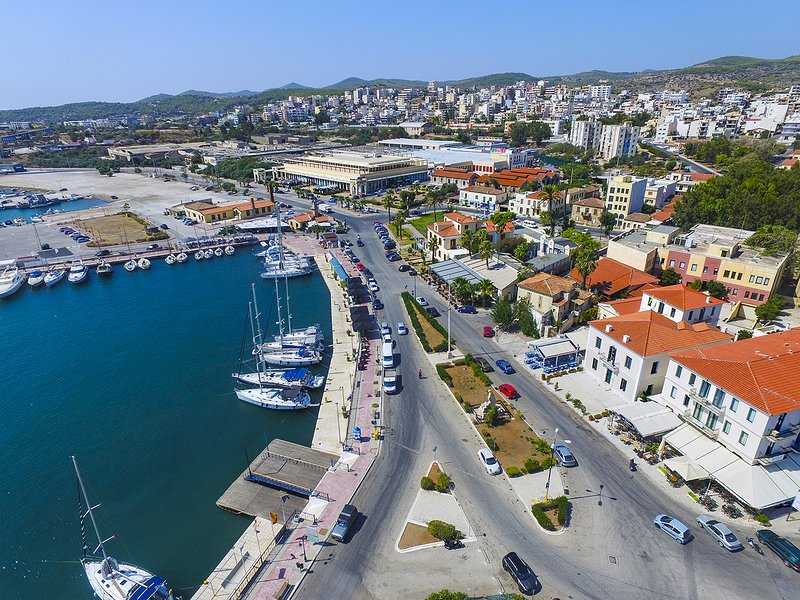 Der Hafen von Lavrio