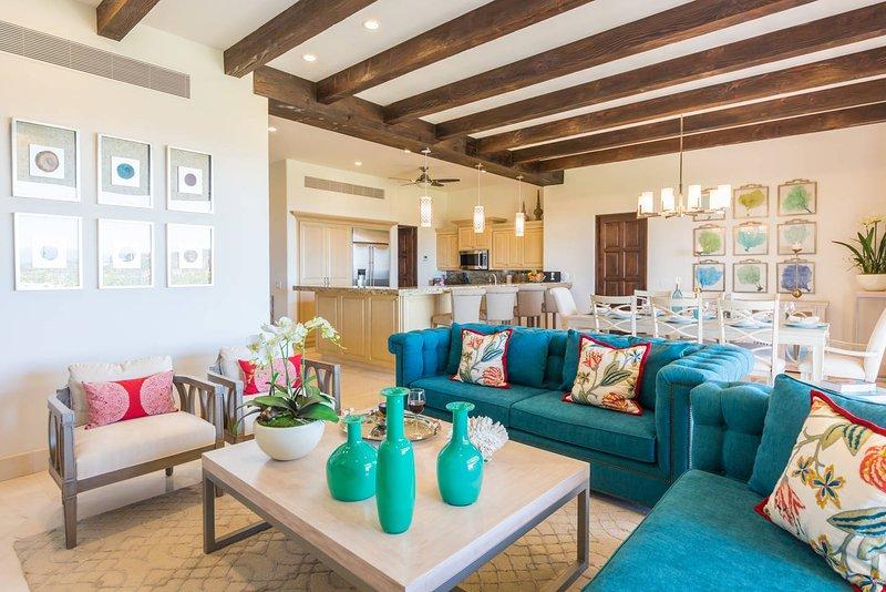 Luxury Villa Santiago - ocean view, holiday rental in Animas Bajas