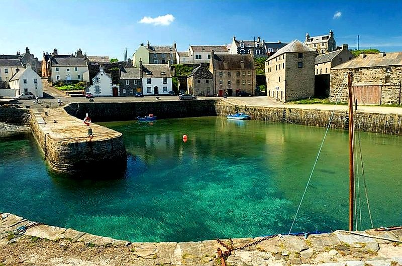 Old Merchant House, Portsoy, Aberdeenshire, Scotland, location de vacances à Portsoy