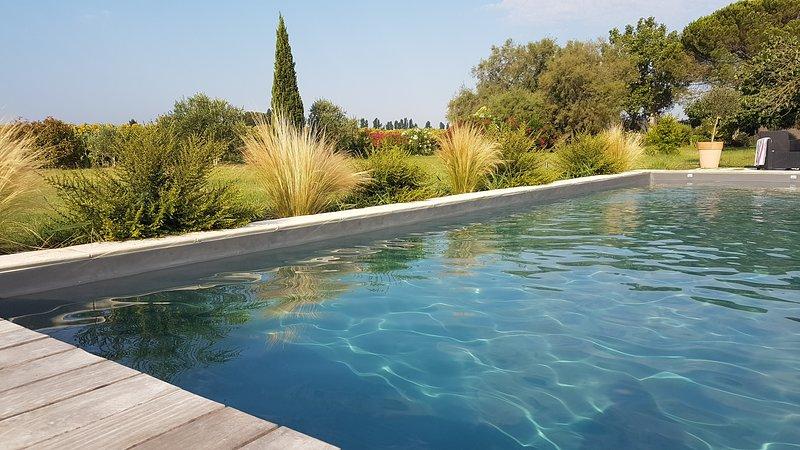 Détendez-vous en Provence au bord de la piscine