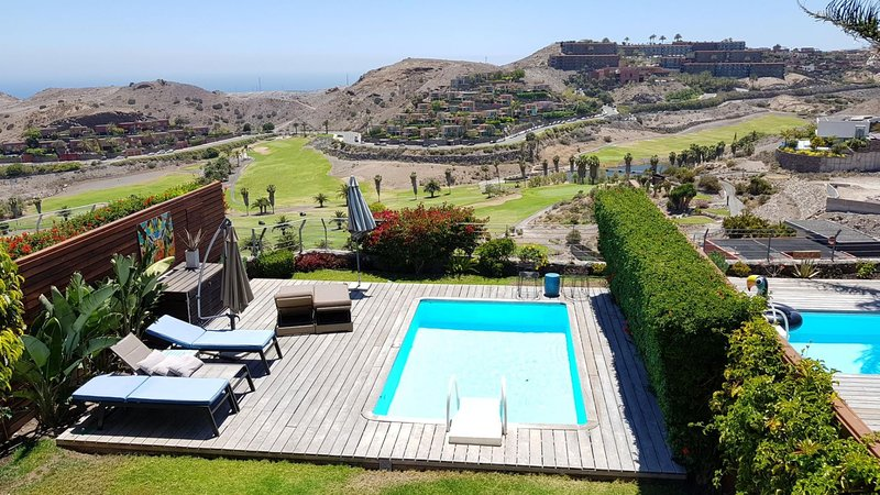Villa with Pool in Salobre Golf Resort Golfers 2, vacation rental in Montana La Data
