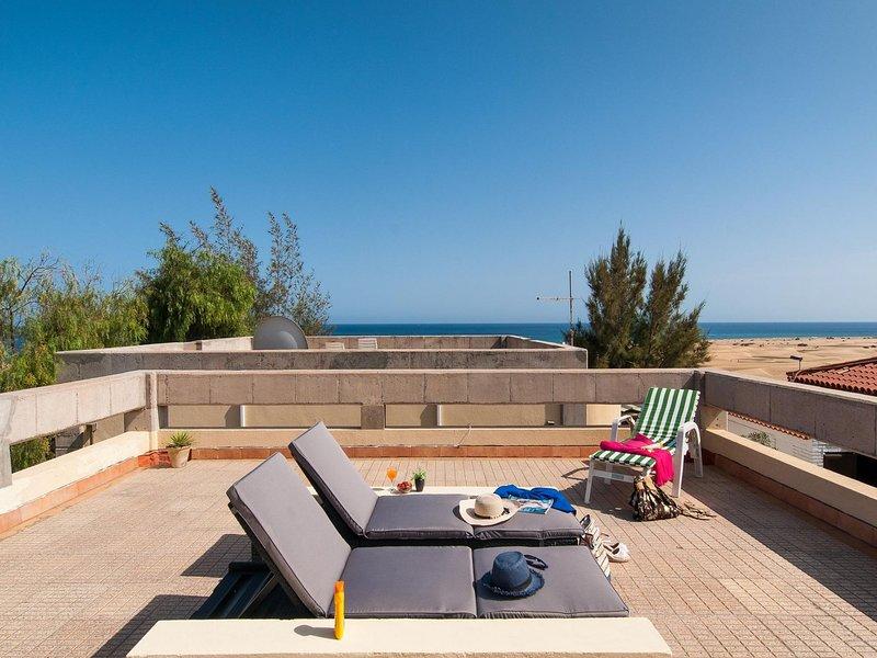 Vista Dunas Maspalomas Casa Verde, vacation rental in Maspalomas