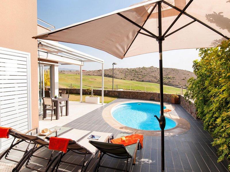 Vista Golf 9-Spain, vacation rental in Montana La Data