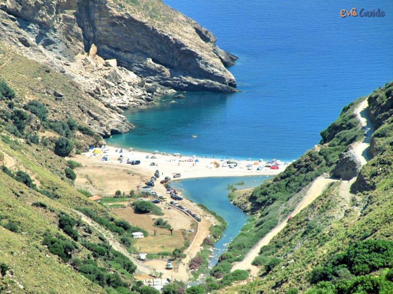 """Praia """"Aghios Dimitrios"""" - Egeu"""