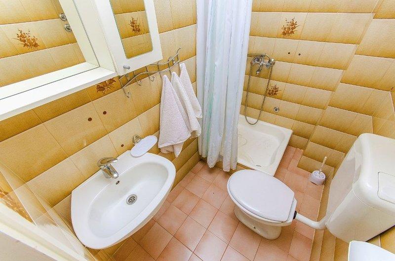 A2 (4+1): bathroom with toilet