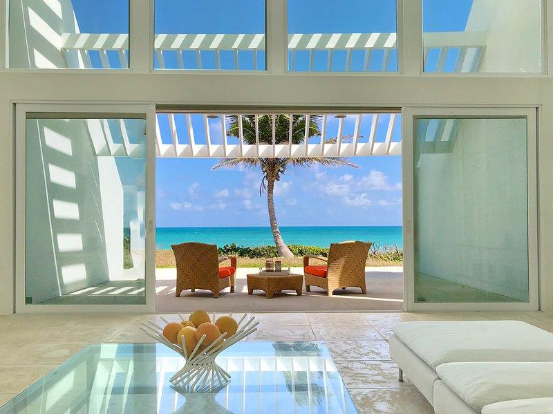 Seascape Villa- Award winning ocean front estate, vacation rental in St. Croix