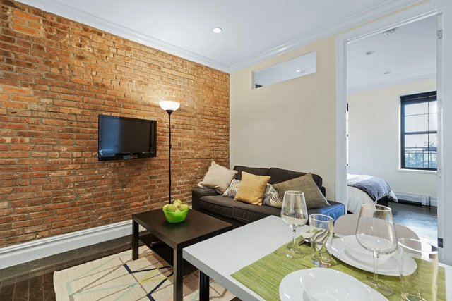 TWO Bedroom Furnished Lux Apartments minimalist Modern Style, holiday rental in New York City