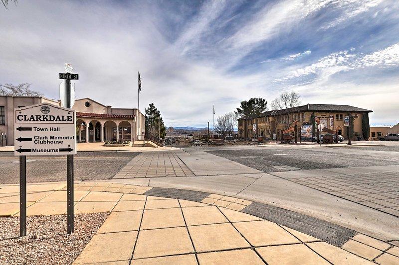 Ce condo Arizona a tout ce dont vous avez besoin pour vos vacances à Clarkdale!