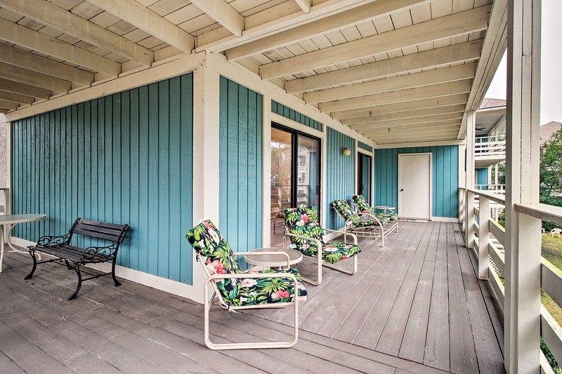 Profitez d'une escapade facile dans cette location de vacances à Hilton Head Island!