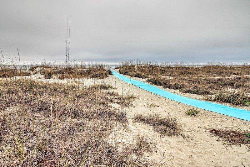 Folly Field Beach est à moins de 10 minutes de la propriété!