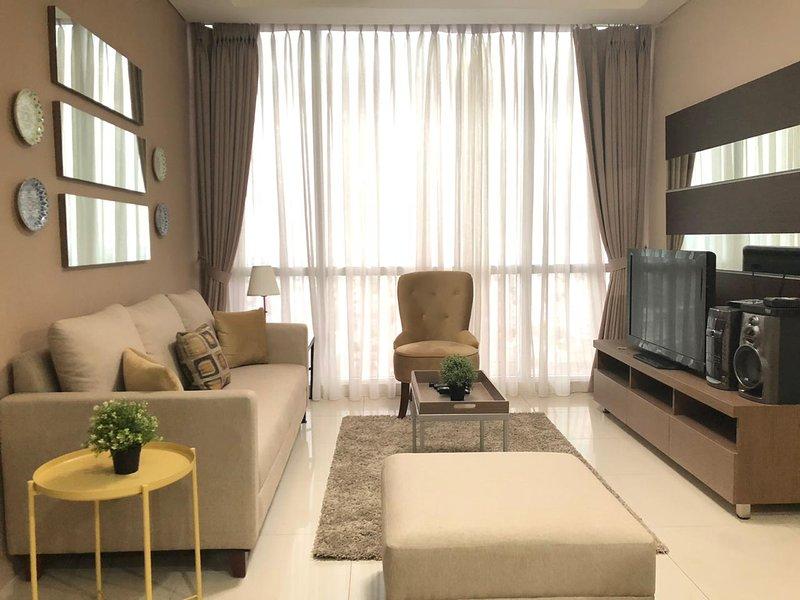 2 Bedroom Kemang Village Residence by DailySava, holiday rental in Jakarta