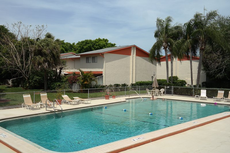 Welcome to Saint Pete! Condo in Quiet Complex with Palm Trees and Pool, holiday rental in St. Petersburg