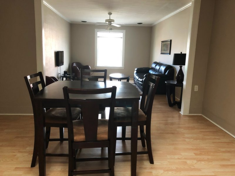 Home is now where you are! Centrally located 2 beadroom fully furnished, holiday rental in Cass City