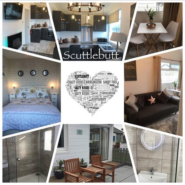 WILBY'S SCUTTLEBUTT pet friendly luxury chalet., vacation rental in Bridlington