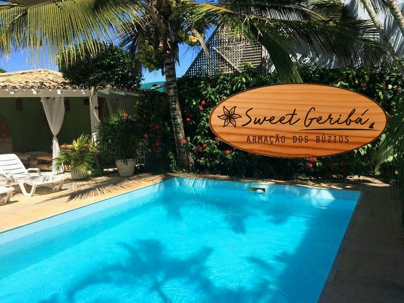 Sweet Geribá (Suítes à 100m da praia), holiday rental in Armacao dos Buzios