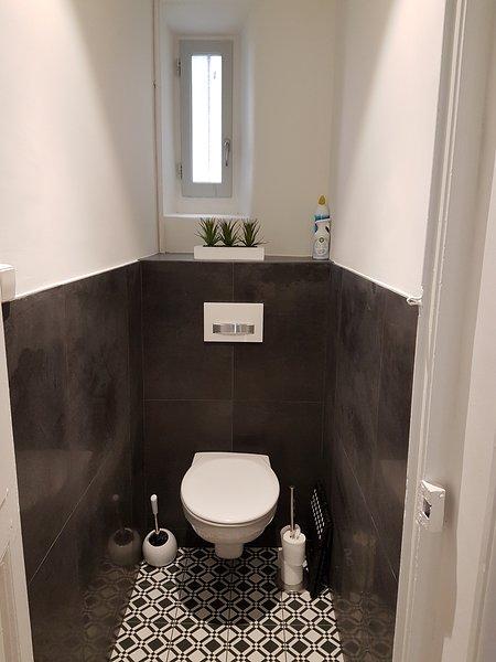 WC suspendido independiente