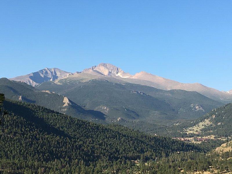 Breathtaking views of Longs Peak.
