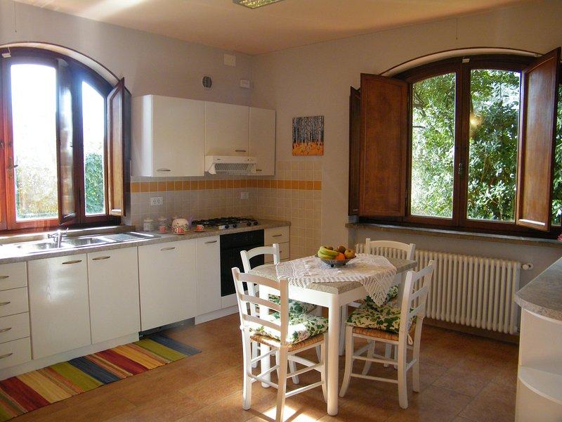 Nice apt with garden & Wifi, vacation rental in Altopascio