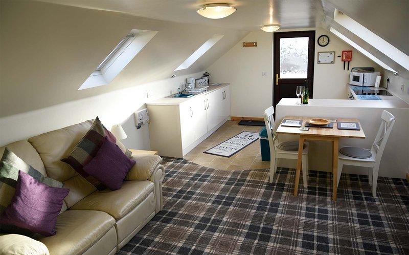 Skye Loft Apartment, Dunvegan, vacation rental in Trumpan