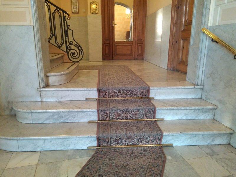 Escadas da entrada
