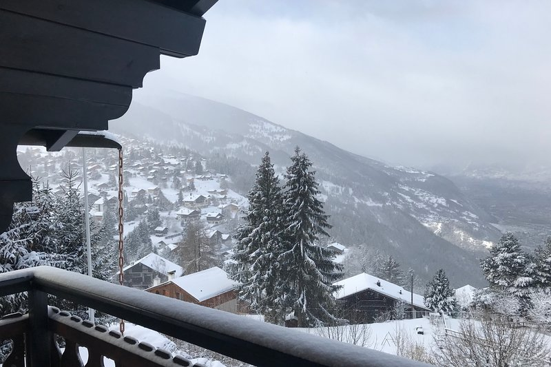 vista panoramica sulla valle