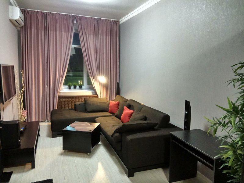 Living Room with sofa bed for two