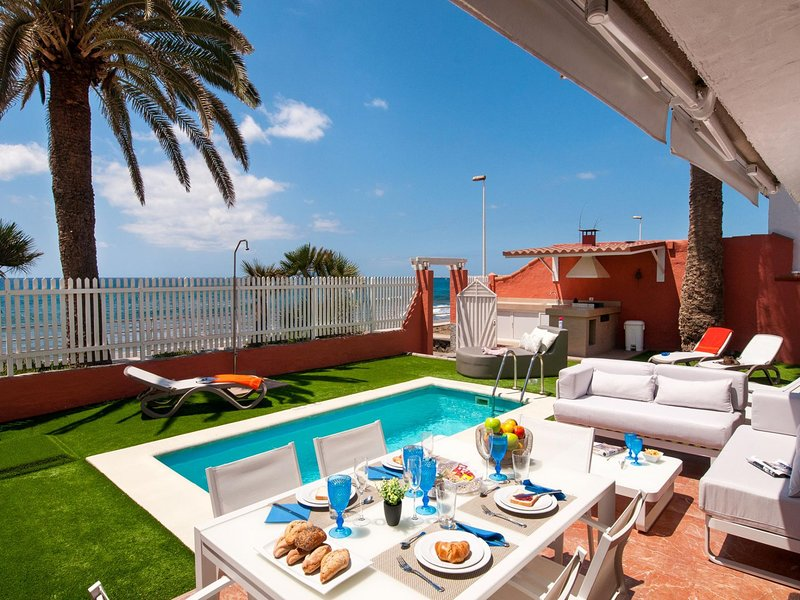 Beach Front Villa - Veril Gran Canaria, location de vacances à Maspalomas