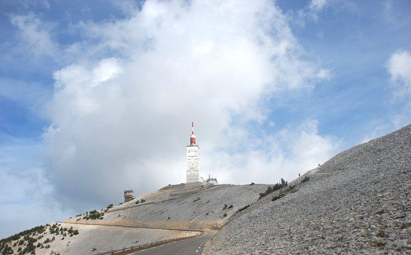 Mont Ventoux, by bike, by car not to be missed