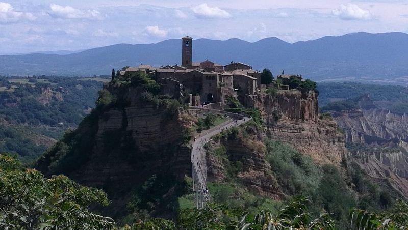 Le Calanque La Terrazza su Civita, casa vacanza a Lubriano